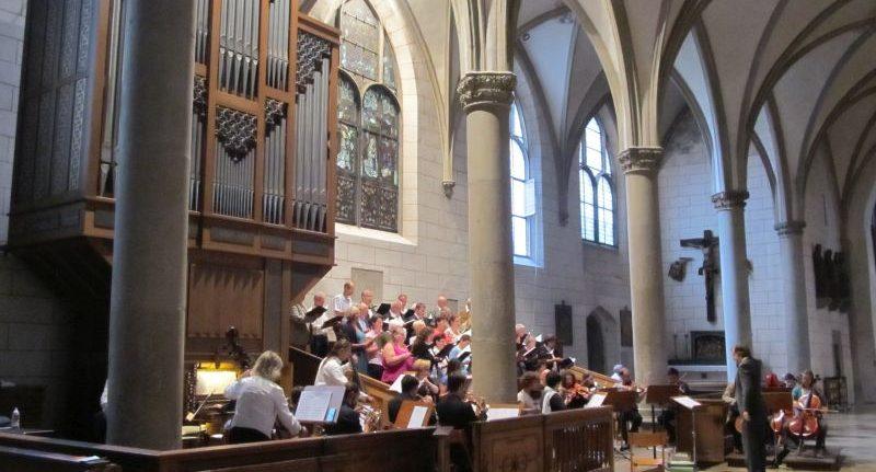 Kirchenmusik St. Michael musizierte ausdrucksstark im Augsburger Dom