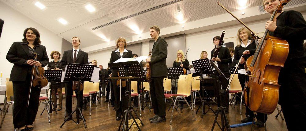 Musik im Gottesdienst und Neujahrsempfang