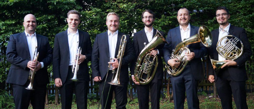 Class Brass musiziert im Gottesdienst