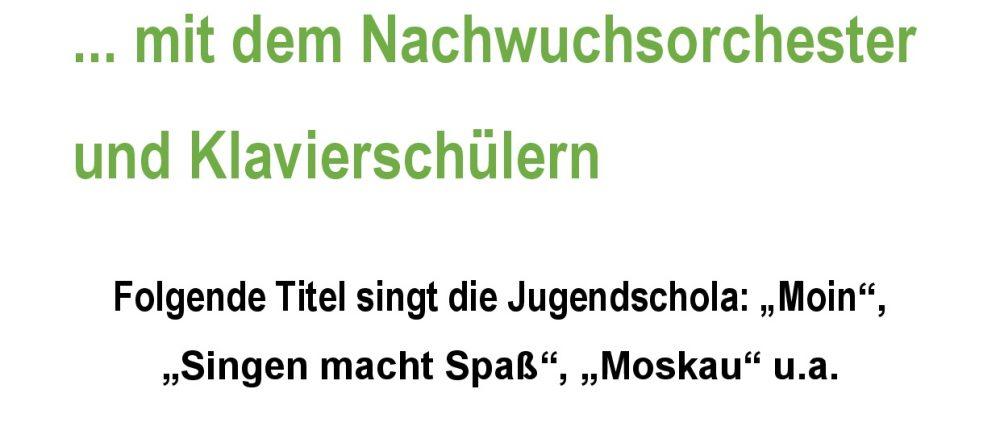 Jugendschola and friends – ein Faschingskonzert