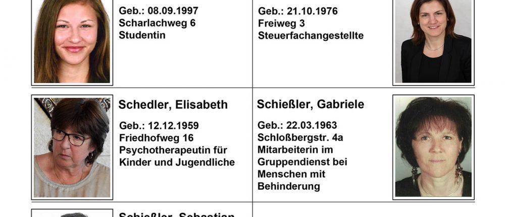 PGR-Kandidatenliste Schwabegg
