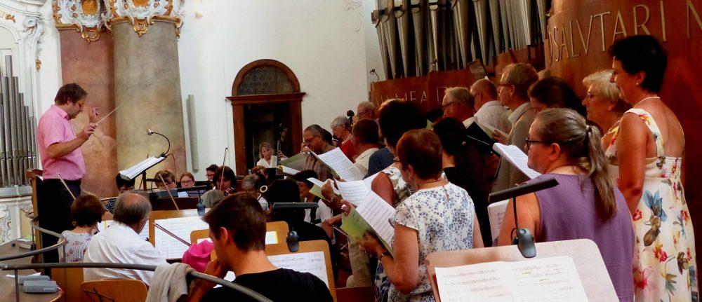 Kirchenmusik St. Michael musizierte ausdrucksstark in der Basilika Ottobeuren