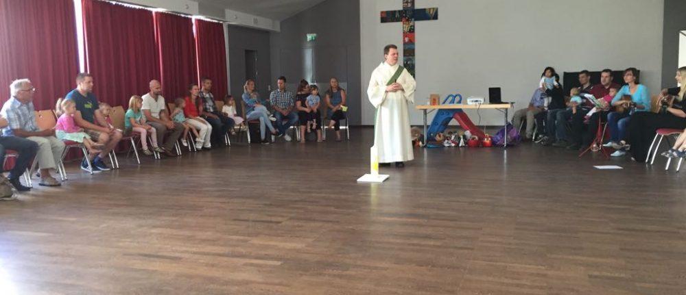Kleinkinderkirche in der Pfarrei Sankt Michael