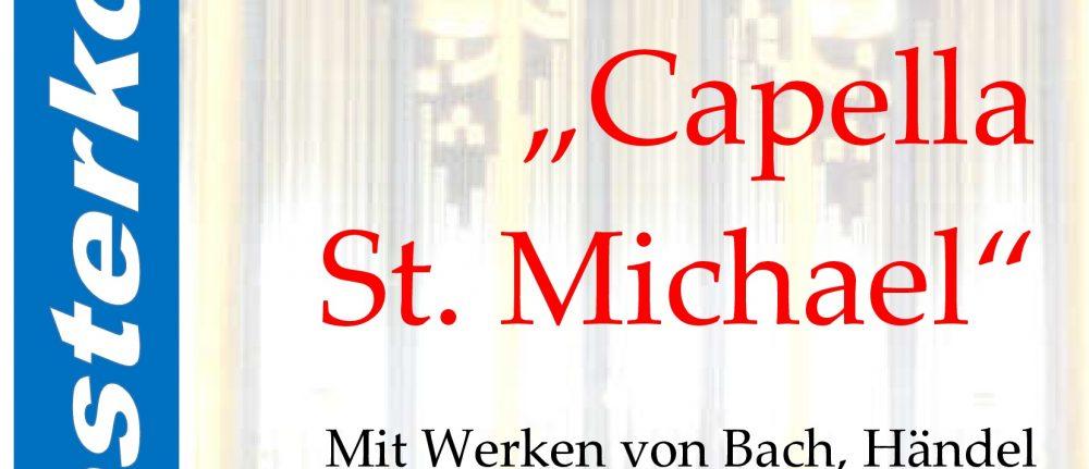 Orchesterkonzert am Sa. 24. Oktober um 19 Uhr in St. Michael