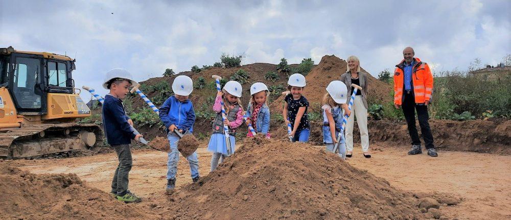 Spatenstich des Kindergarten St. Anna