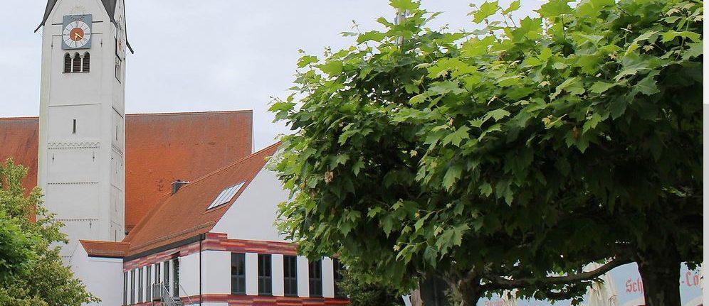 Neue Räumlichkeiten des Pfarrbüros der Pfarreiengemeinschaft Schwabmünchen